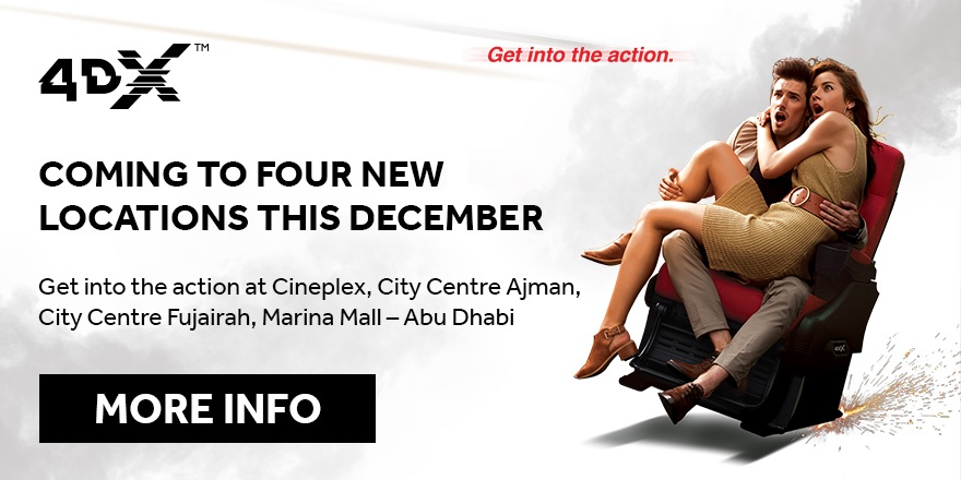 4DX coming soon
