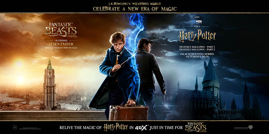 Relive the magic of Harry Potter in 4DX just in time for Fantastic Beasts