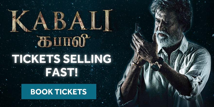 Kabali Tickets now on sale