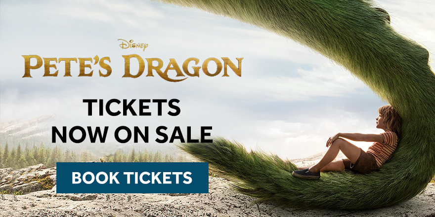 Pete's Dragon tickets now on sale