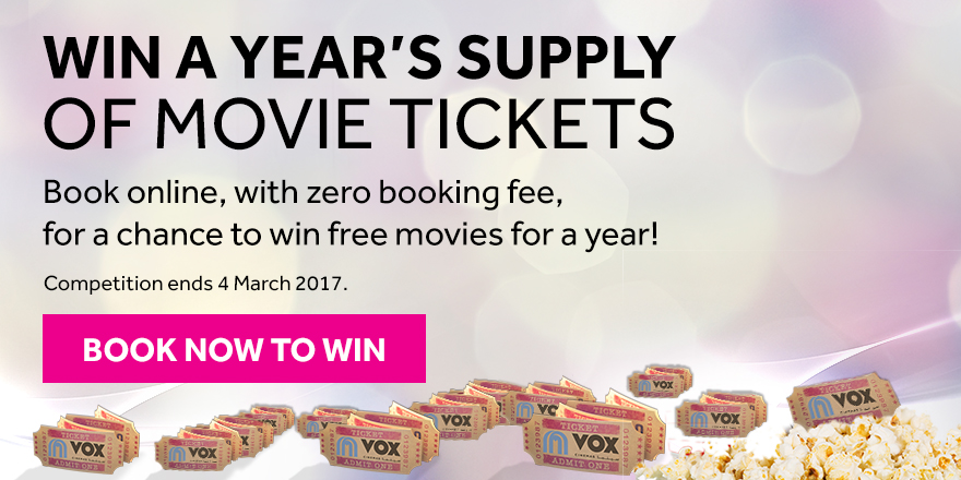 book now to win