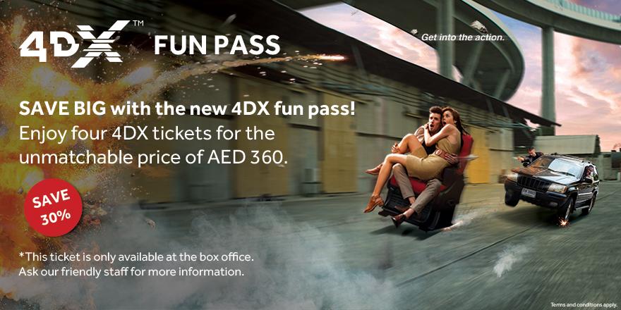 4DX Fun Pass