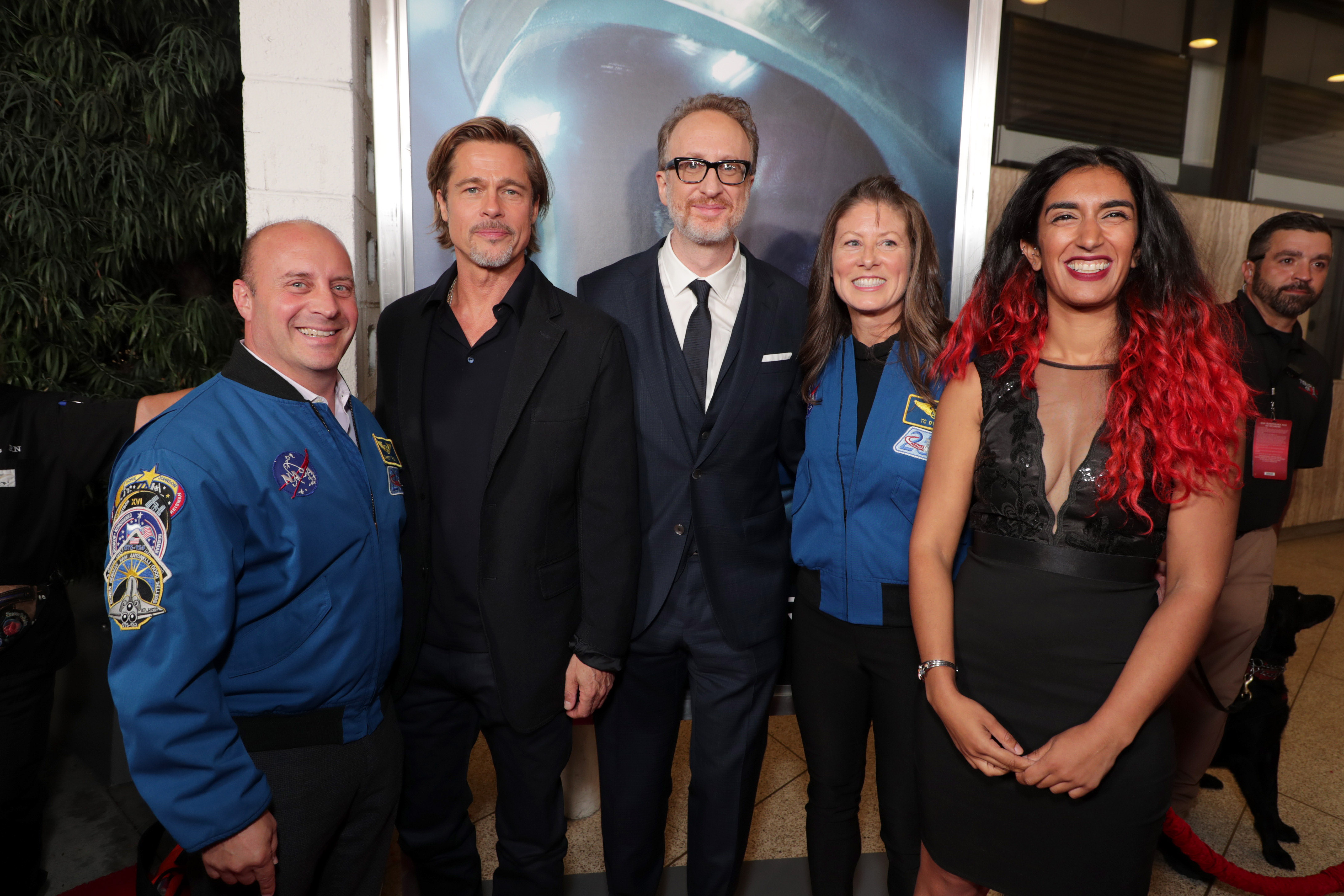 VIPs arrive at Ad Astra Hollywood premiere