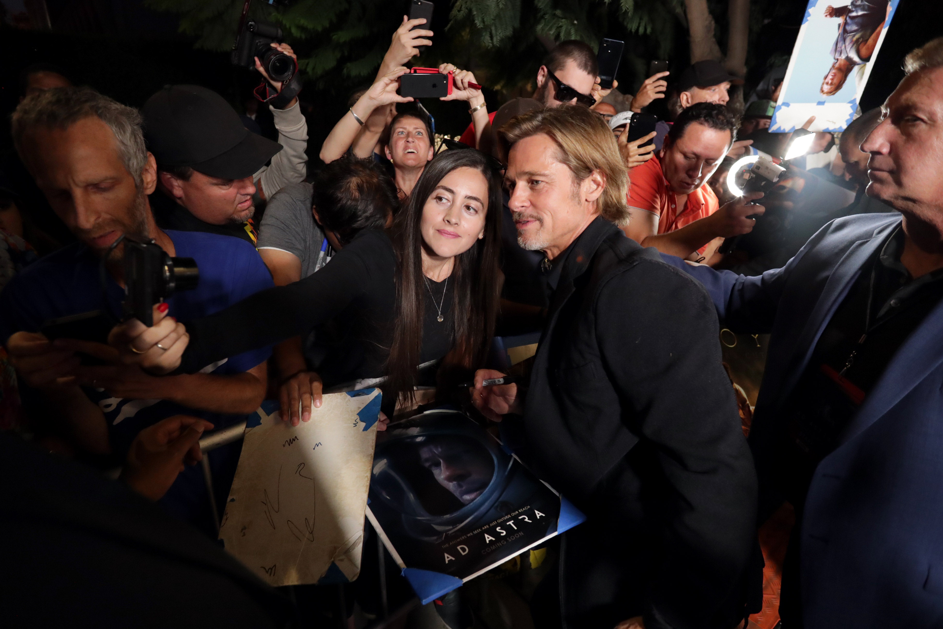 Stars walk the red carpet at Ad Astra Hollywood premiere