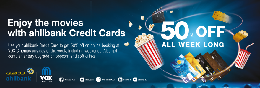 Movie Ticket Offers | VOX Cinemas Oman | VOX Cinemas Oman