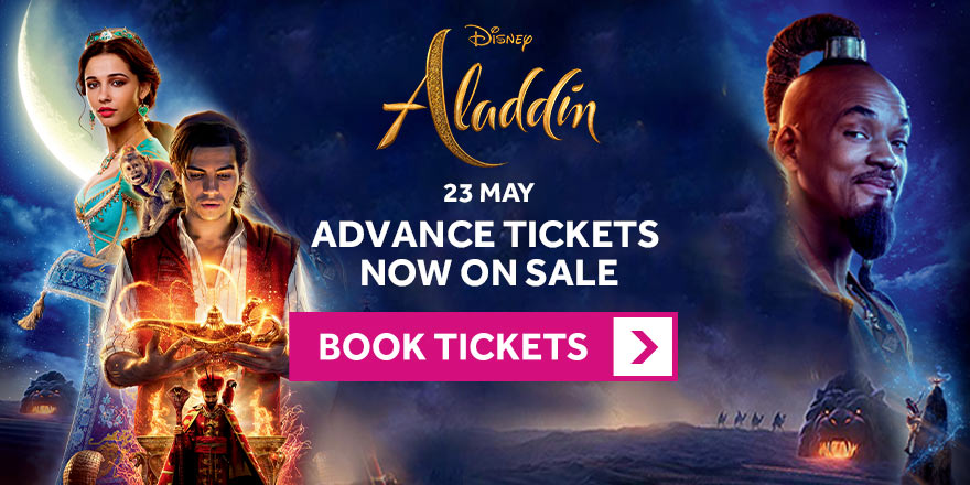 Aladdin Advance Bookings