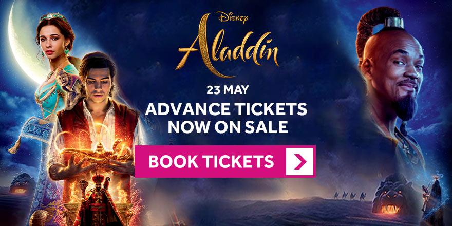 Aladdin Advance tickets