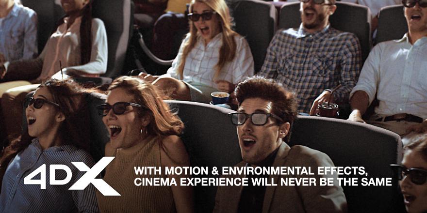 4DX at VOX Cinemas