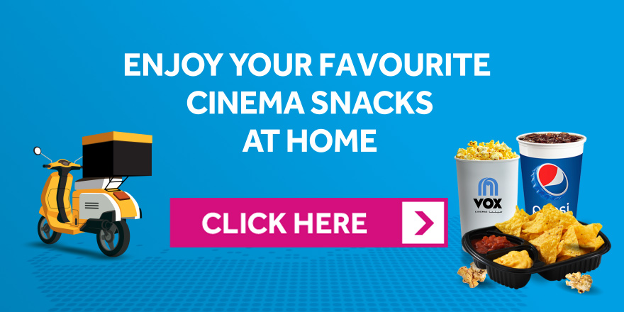Online delivery at VOX Cinemas