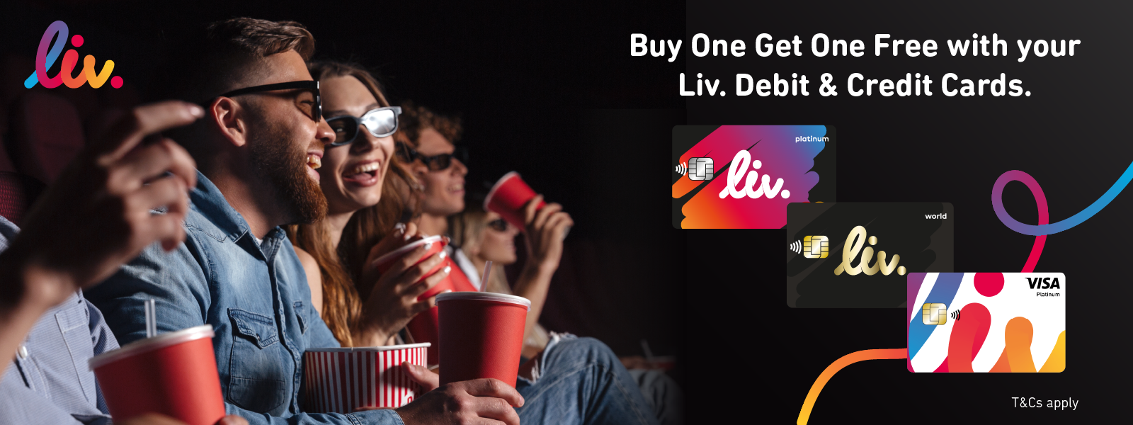liv ticket offer