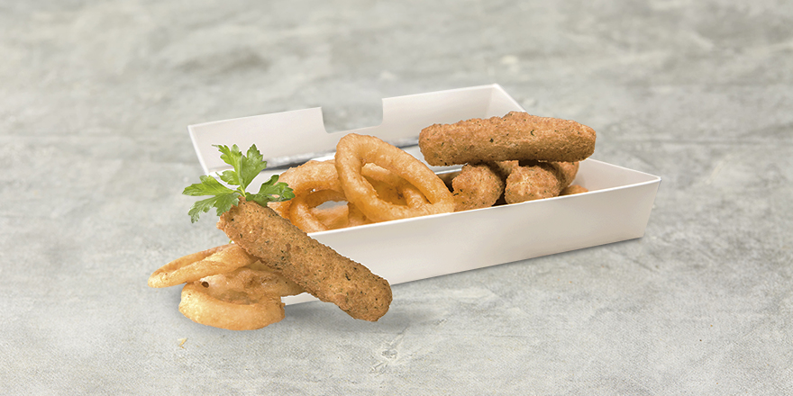Order Mozzarella Sticks and Onion Rings from VOX Cinemas