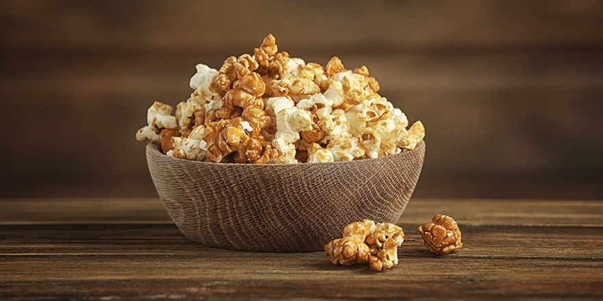 Order Salt and Caramel Popcorn from VOX Cinemas
