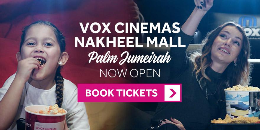 VOX Cinemas Nakheel Mall Palm Jumeirah Now Open