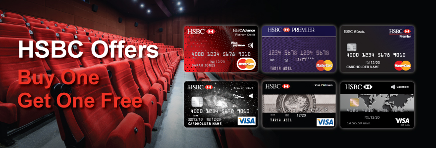 HSBC - Buy one ticket get one free