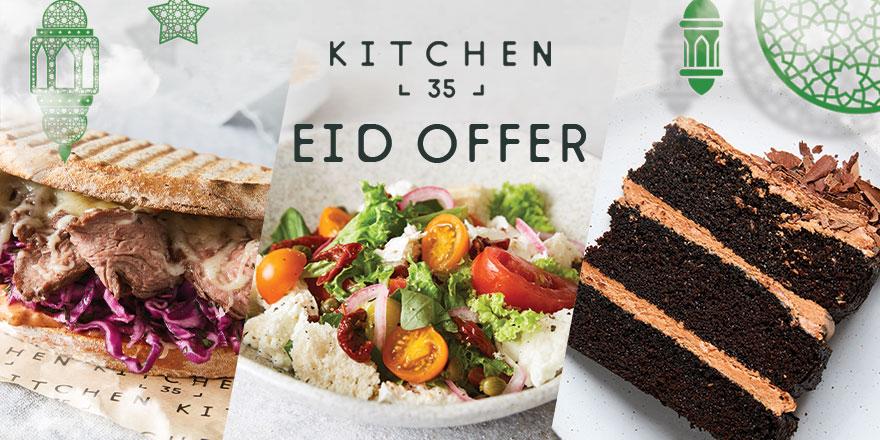 Kitchen 35 Eid offer