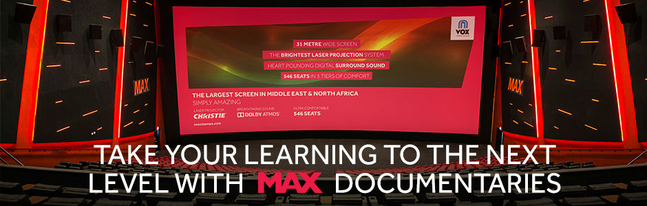 MAX Cinema Experience in UAE | VOX Cinemas UAE