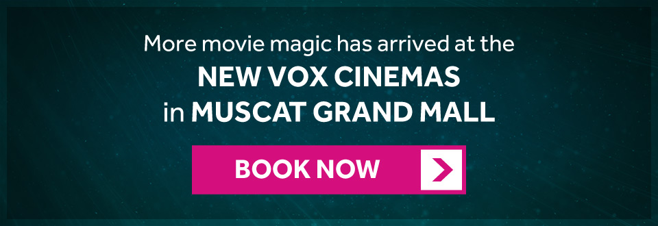 The new VOX Cinemas is now open in Muscat Grand Mall