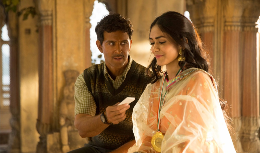 Why does the actress from Super 30 look familiar?