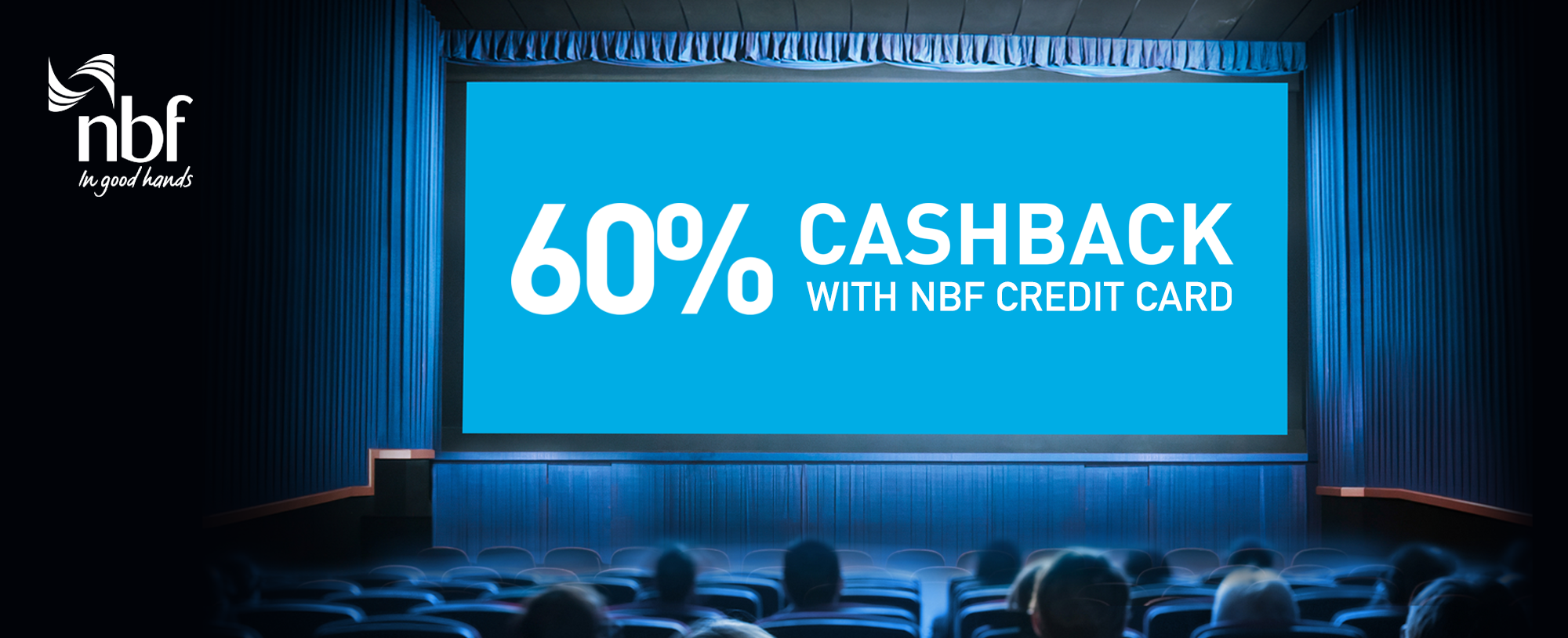 NBF - Get 60% off on movie tickets with your NBF credit card