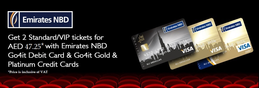 Movie Tickets Offer For Emirates NBD Go4it Cards   VOX Cinemas UAE