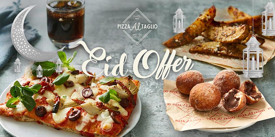 Pizza Al Taglio Eid offer