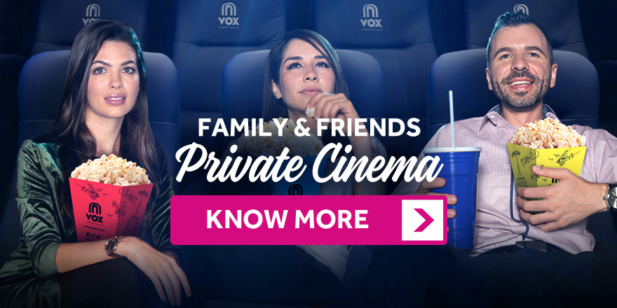Family & Friends Private Cinema