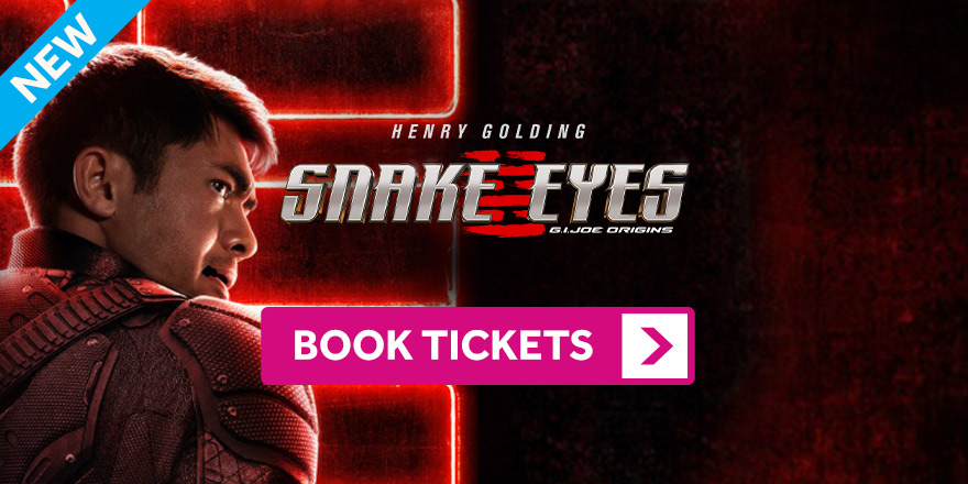 Snake Eyes GI Joe Origins