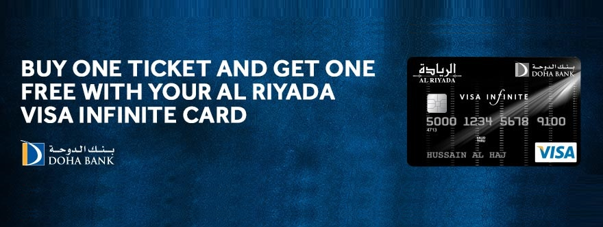 Doha Bank Offer - Buy One Get One Free