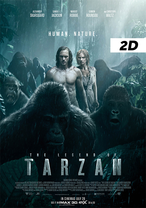 The Legend of Tarzan 2D