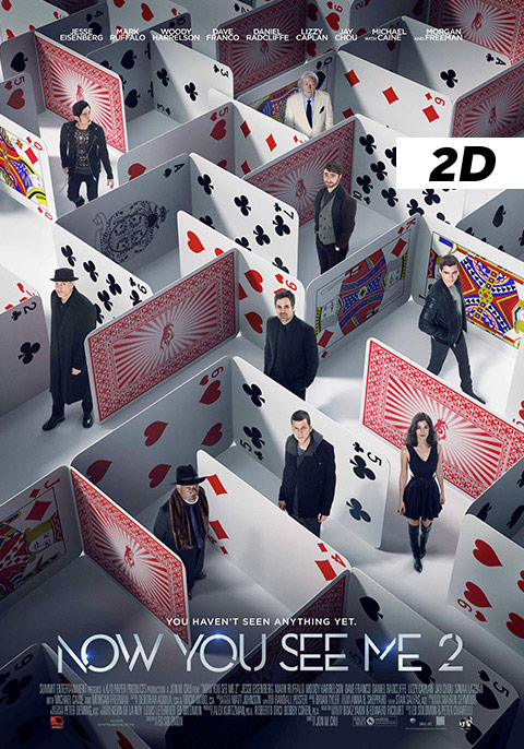 Now You See Me 2-2D