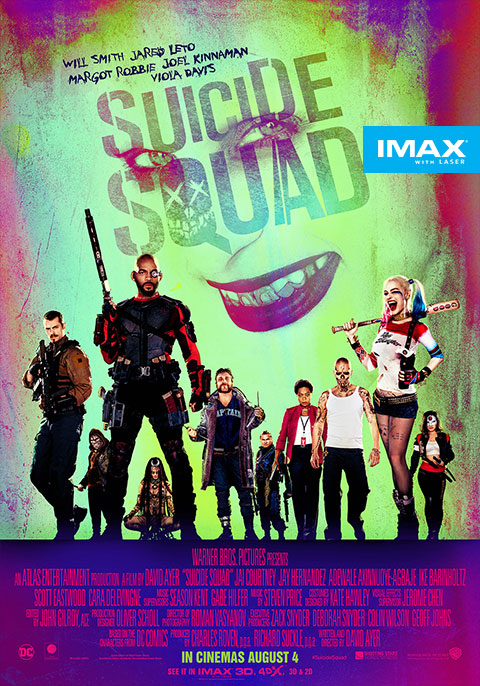Suicide Squad 3D IMAX