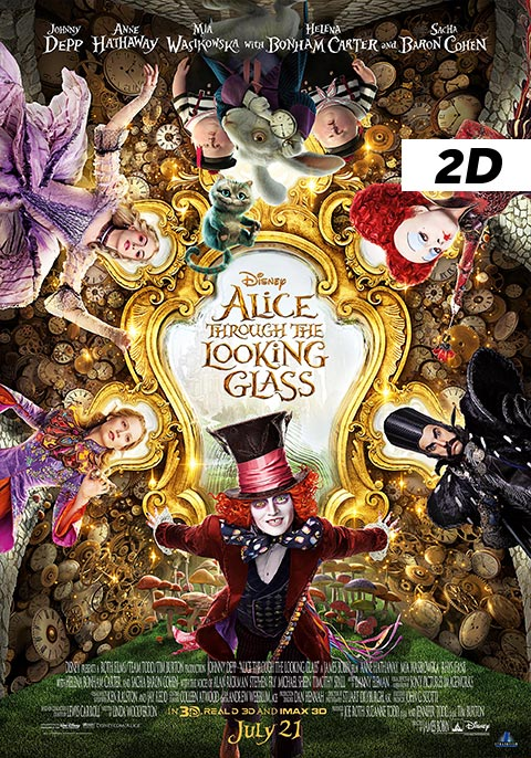 Alice Through the Looking Glass 2D
