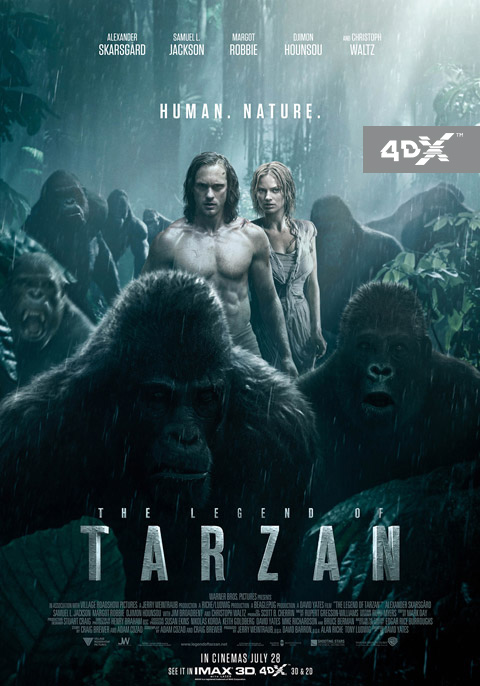 The Legend of Tarzan 3D 4D
