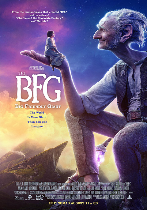 The BFG : Big Friendly Giant