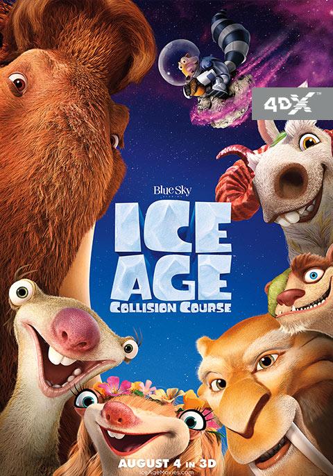 Ice Age - Collision Course 3D 4D