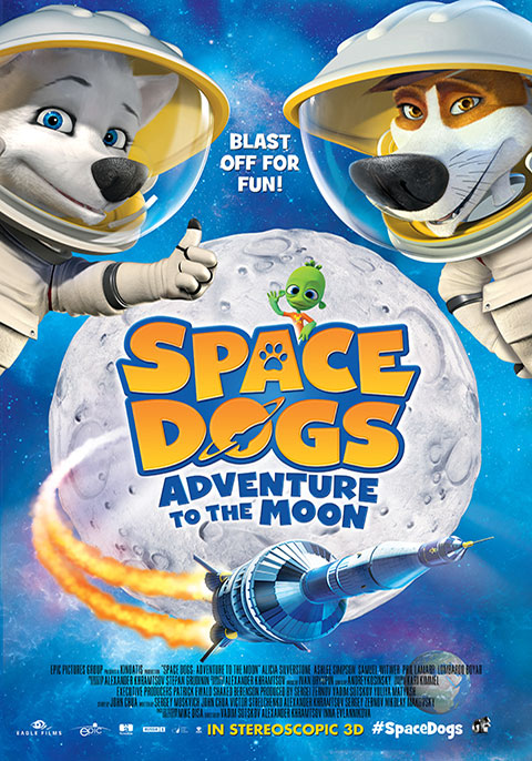 Space Dogs 2-Adventure to the Moon