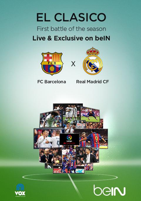 El Clasico: Real Madrid vs FC Barcelona