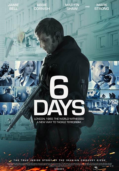 Resultado de imagen para 6 Days movie poster