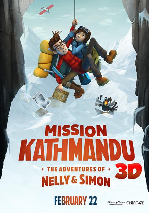 Mission Kathmandu:The Adventures of Nelly & Simon