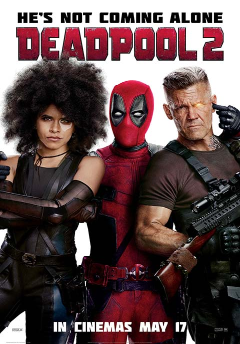 Download Film Deadpool 2 (2018) Subtitle Indonesia MP4 MKV 480p, 720p