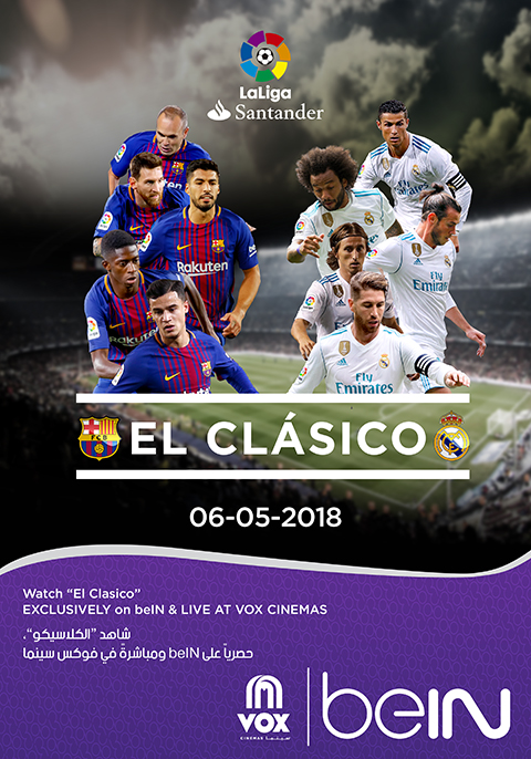el clasico 2018 real madrid vs barcelona live now showing book