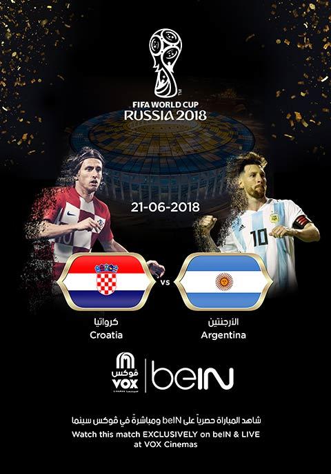 World Cup: Argentina vs Croatia [English]