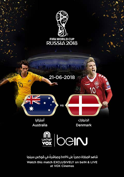 World Cup: Denmark vs Australia [English]