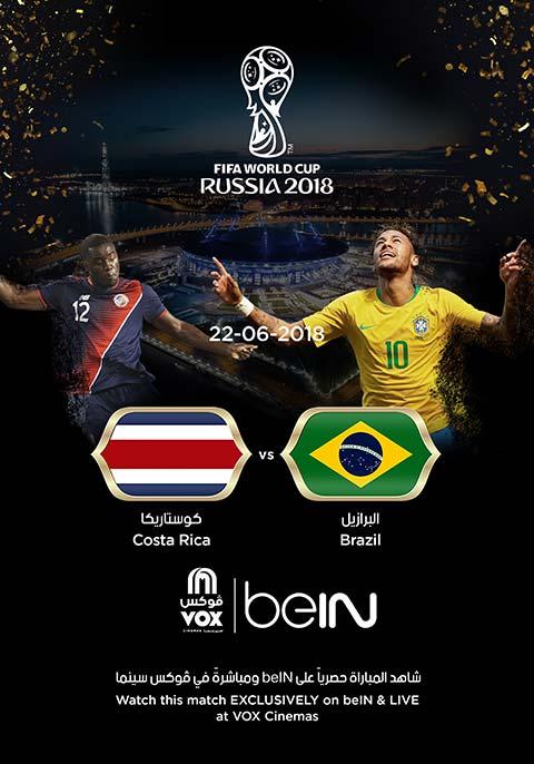 World Cup: Brazil vs Cost Rica [English]