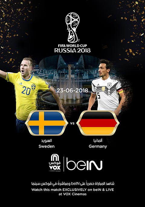 World Cup: Germany Vs Sweden [English]