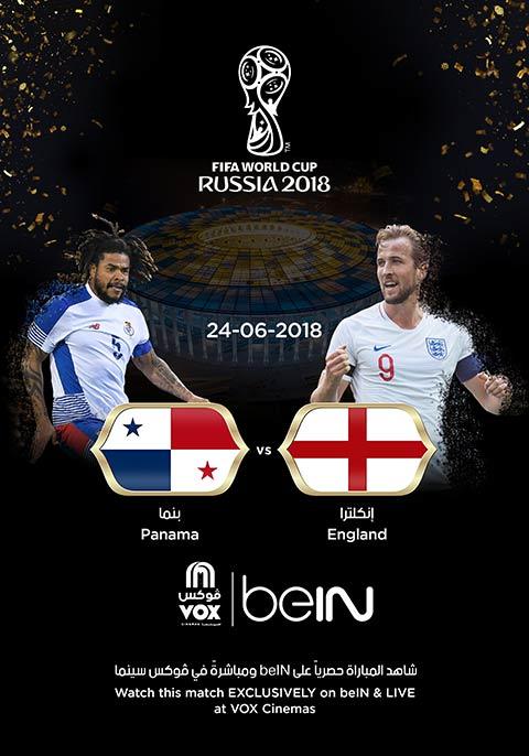 World Cup: England vs Panama [English]