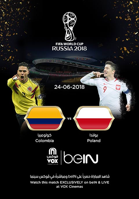 World Cup: Poland vs Colombia [English]