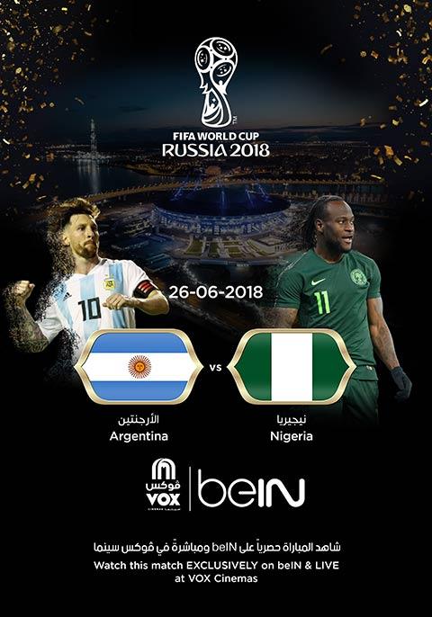World Cup: Nigeria Vs Argentina [English]