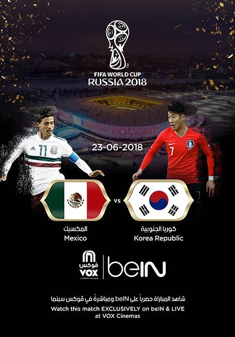 World Cup: South Korea vs Mexico [English]