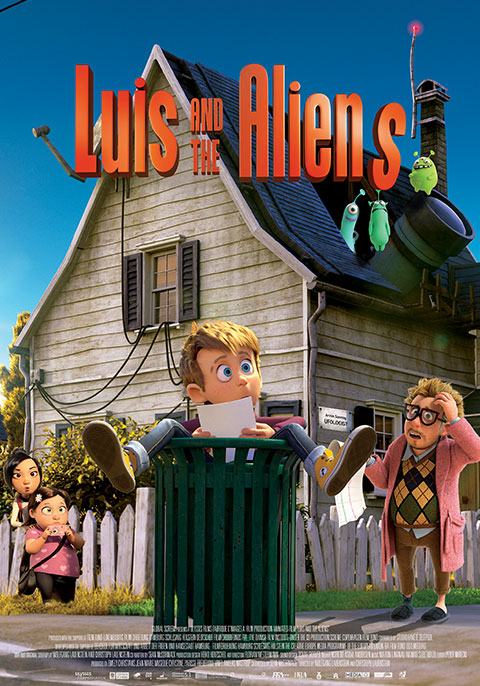 Luis and The Aliens | Now Showing | Book Tickets | VOX